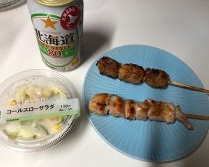 セブンイレブン惣菜で晩酌