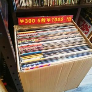◆本日営業してます◆300円LPレコード60枚を店頭に追加いたしましたー!