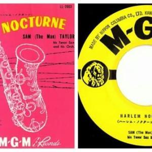 ◆サム・テイラー(Sam Taylor)「ハーレム・ノクターン(Harlem Nocturne)」MGM Records LL-2003 7インチシングルレコード