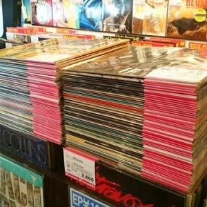 ◆新着◆邦楽/洋楽のLPレコードを150枚ぐらい店頭レギュラー・コーナーに…
