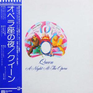 ◆帯付きLP◆クイーン(Queen)「オペラ座の夜(A Night At The Opera)」Elektra P-10075E
