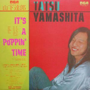 ◆引き続きワンオーナー美盤◆帯付き2LP◆山下達郎「It's A Poppin' Time」RCA RVL-4701~2 六本木ピットイン 坂本龍一 村上秀一