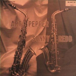 ◆米国(US)盤RVG両面刻印準オリジナルMono◆アート・ペッパー&ソニー・レッド「Art Pepper & Sonny Redd」Savoy MG-12215
