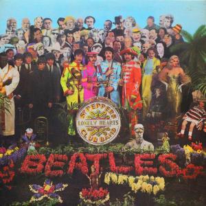 ◆英国(UK)YBラベル/初回マトA-1/B-1/Garrodジャケ/Mono/赤白内袋/シート◆The Beatles「Sgt. Pepper's …」Parlophone PMC 7027
