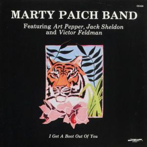◆米国盤ReissueLP◆Marty Paich Band Featuring Art Pepper「I Get A Boot Out Of You」Discovery DS-829