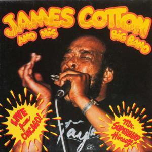 ◆米国盤ブルースLP◆ジェイムス・コットン James Cotton And His Big Band「Live From Chicago」Sonet SNTF 959