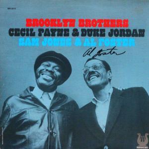 ◆ジャズ'73米国オリジナル盤LP◆セシル・ペイン Cecil Payne & デューク・ジョーダン Duke Jordan「Brooklyn Brothers」Muse MR 5015