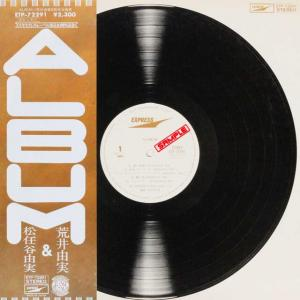 ◆'77年オリジナル/すごろく型歌詞カード&帯付LP◆荒井由実 & 松任谷由実「Album」Express ETP-72291