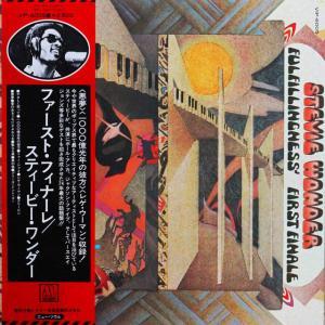 ◆'77年ソウル帯付きLP◆スティーヴィー・ワンダー Stevie Wonder「Fulfillingness' First Finale」ポール・アンカ、ジャクソン5、ミニー・リパートン