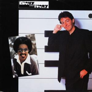 ◆ポール・マッカートニー & スティーヴィー・ワンダー(Paul McCartney & Stevie Wonder)「Ebony And Ivory」Parlophone 12R 6054