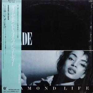 ◆'84年/ソウル/ポップ/シュリンク&帯付きLP◆シャーデー Sade「Diamond Life」Epic 28·3P-545 シャーデー・アデュ