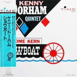 ◆'87年/ジャズ/トランペット/帯付LP◆ケニー・ドーハム Kenny Dorham Quintet「Jerome Kern Showboat」Time Records CEJC00069