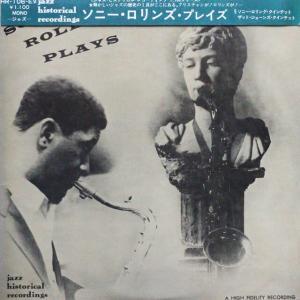 ◆ジャズ/サックス/帯付LP◆Sonny Rollins Quintet「Sonny Rollins Plays」Jazz Historical Recordings HR-106-EV