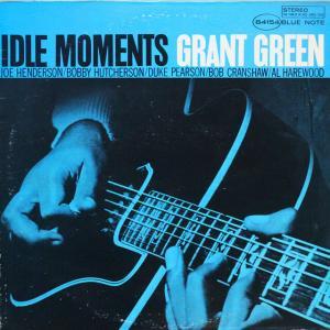 ◆米国盤/United Artists黒b♪ラベル/両面VanGelder刻印/LP◆グラント・グリーン Grant Green「Idle Moments」Blue Note BST-84154