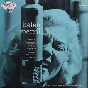 ◆ジャズ/ボーカル/LP◆ヘレン・メリル・ウィズ・クリフォード・ブラウン「Helen Merrill」Mercury SFX-10503