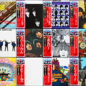 ◆全ワンオーナーほぼ美品/すべて日本盤旗帯付きLP◆ビートルズ(ジョン・レノン、ポール・マッカートニー、ジョージ・ハリスン、リンゴ・スター)