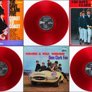 ◆詳細あり◆すべて赤盤/歌詞カード付/ワンオーナー美品LP◆デイヴ・クラーク・ファイヴ The Dave Clark Five (ビート・グループ、ブリティッシュ・ビート)