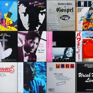 ◆詳細あり◆ワンオーナーほぼ美品/輸入&国内LP◆ゴスペル、サム・クック、アレサ・フランクリン、ブルースロック、シャーデー、Sade、Soul、ロック、ポップス、などなど