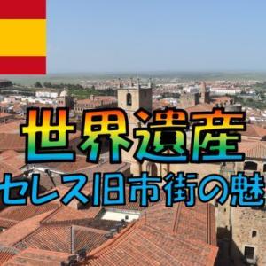 スペインの世界遺産カセレス旧市街の魅力【モロッコ・スペイン・ポルトガル】旅行記17日目