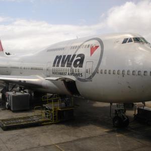 思い出のノースウエスト航空