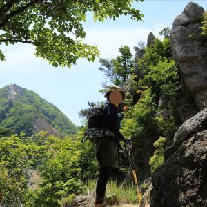 登山再開で鎌ヶ岳のぼったった①最短ルートで到着成功!(2020年5月)