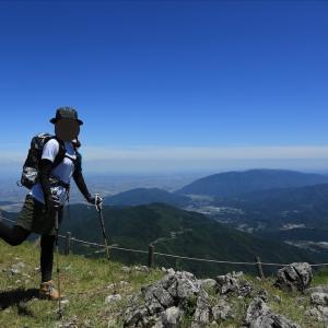 百名山の伊吹山にのぼったった②1000mアップをこなして山頂へ!(2020年6月)