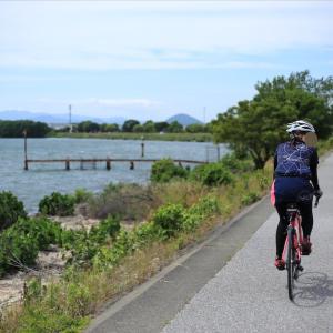 わずか15kmでも琵琶湖ライドは美味しくて気持ちイイ!?(2020年6月)
