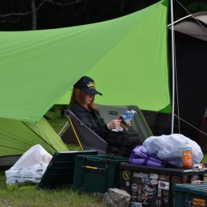 【北海道キャンプ場】屈斜路湖・和琴半島湖畔キャンプ場レポ