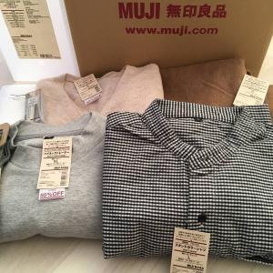 【無印良品】良品週間に買った秋冬服、その他いろいろ。