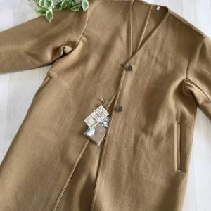 【無印良品週間】秋冬にさらっと羽織れるダブルフェイスコートなど、いろいろ・・・。