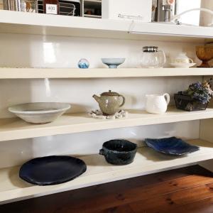 食器の整理整頓。できた空間に新しいものを入れる。