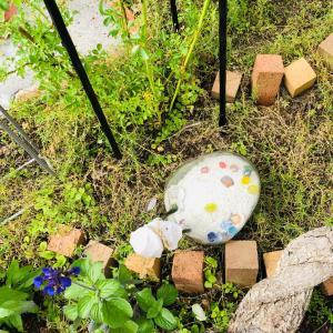 7/8 断捨離記録。〜2393個。雨上がりの庭の様子。