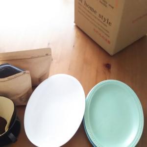 楽天マラソン◇少し残念!?届いた食器~よく使うパン祭りのお皿と比較