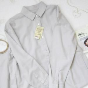 無印で長く着れそうなシャツワンピースを買いました
