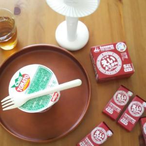 献立作り食べ合わせ問題◇長期保存おやつようかんと夏に食べたくなるカップ麺