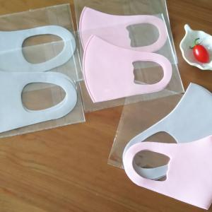 届いたマスク…急遽なサイズ調整は簡単に◇アイコトマト初収穫