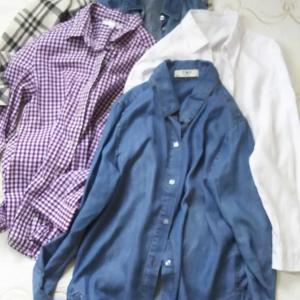 夏でも便利な部屋着~さらりと薄手シャツ系