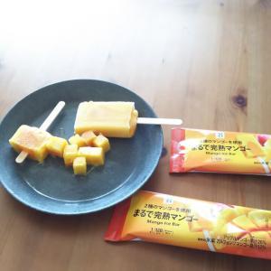 コンビニ美味しい物~リピートします!セブンイレブン完熟マンゴーアイス