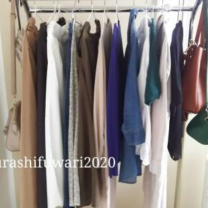 ◇少ない服で着回す衣替え◇1番にしたい無印シャツワンピースコーデ