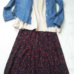 ◇最近のふしぎなコーデ◇お気に入りになっている服