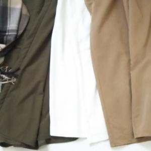 ◇少ない服着回し◇冬もお気に入りワイドパンツ&スカーチョコーデ