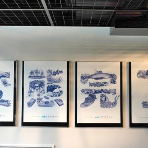 京都水族館②とシュシュとクリームの今日のひとこま