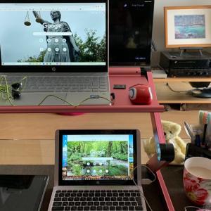 自宅でのPC活用スタイル。目標へ向けて。
