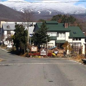 初冬となりました、雪景色!