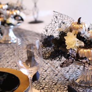 【NYスタイル・ハロウィン】ご友人から「わぁっ」と歓声が上がるようなテーブルコーディネート