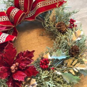 幸せをよぶクリスマスリース・ワンディレッスン