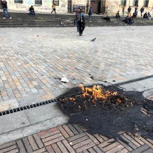 【コロンビア】血と爆弾と石の舞う日。首都ボゴタでデモに遭遇した話。