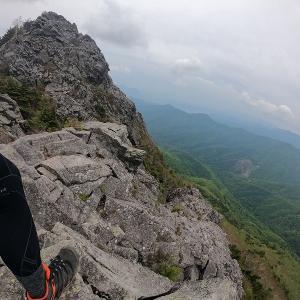 【山行】岩山アスレチックの乾徳山へ[山48]