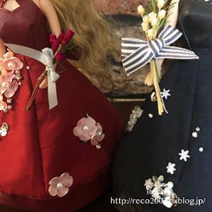<ドレス+ブーケ>