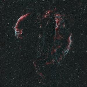 オールドレンズで網状星雲